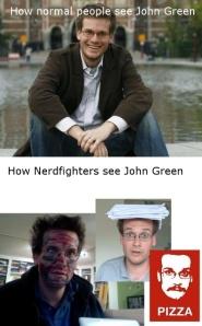 how we see John GReen