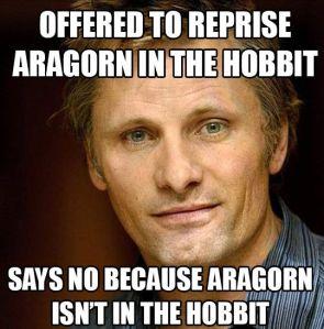 not in the hobbit