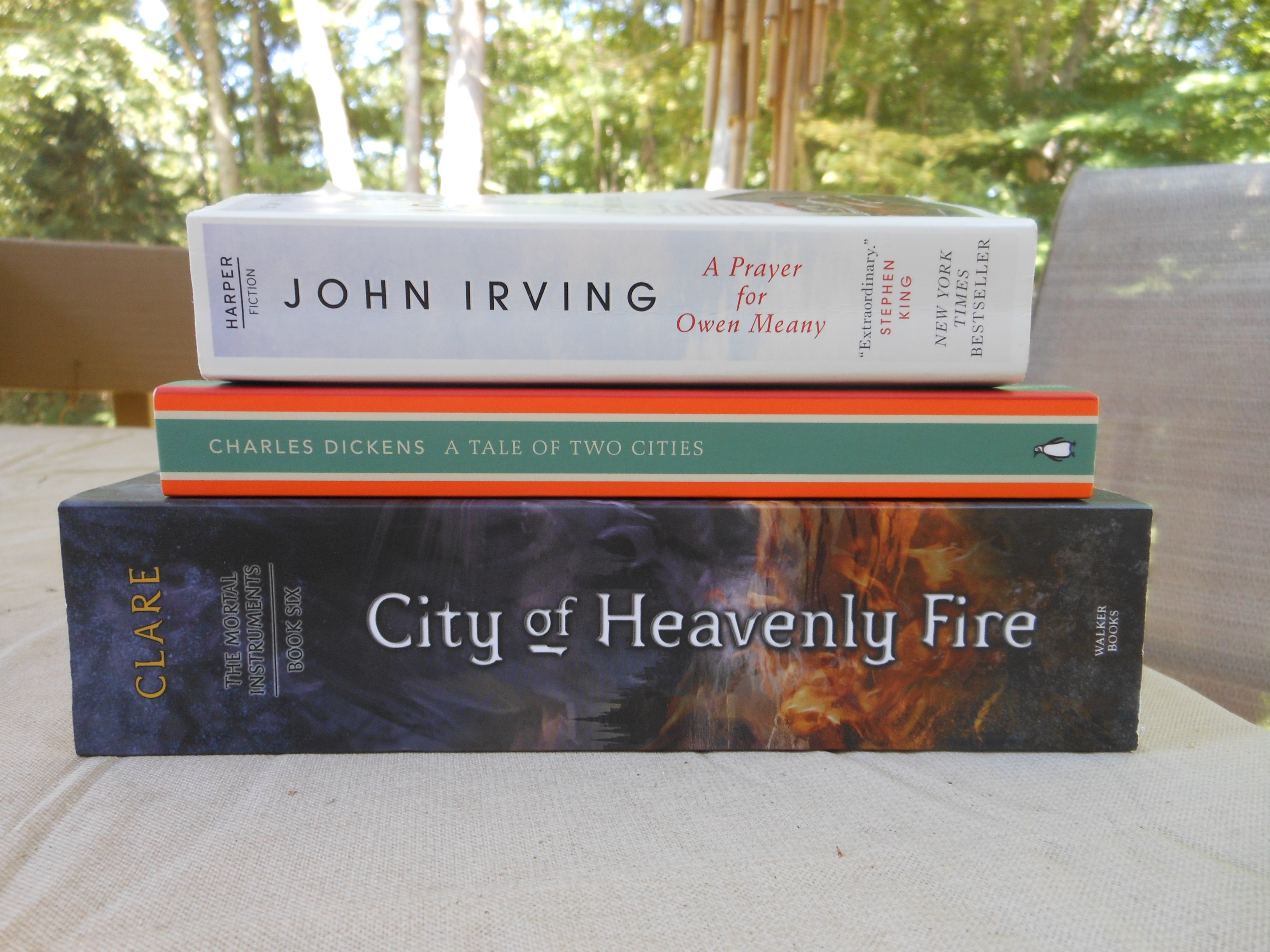 more books nut nerd a prayer for owen meany by john irving this is one of the books i ve been assigned to over the summer i ve actually already finished it