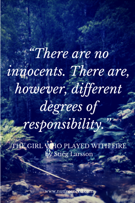"""There are no innocents. There are,"