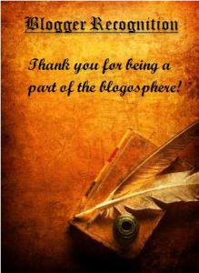 bloggerrecognition