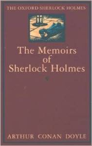The Memoirs of Sherlock Holmes by Sir Arthur Conan Doyle cover