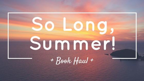 SO LONG, SUMMER!